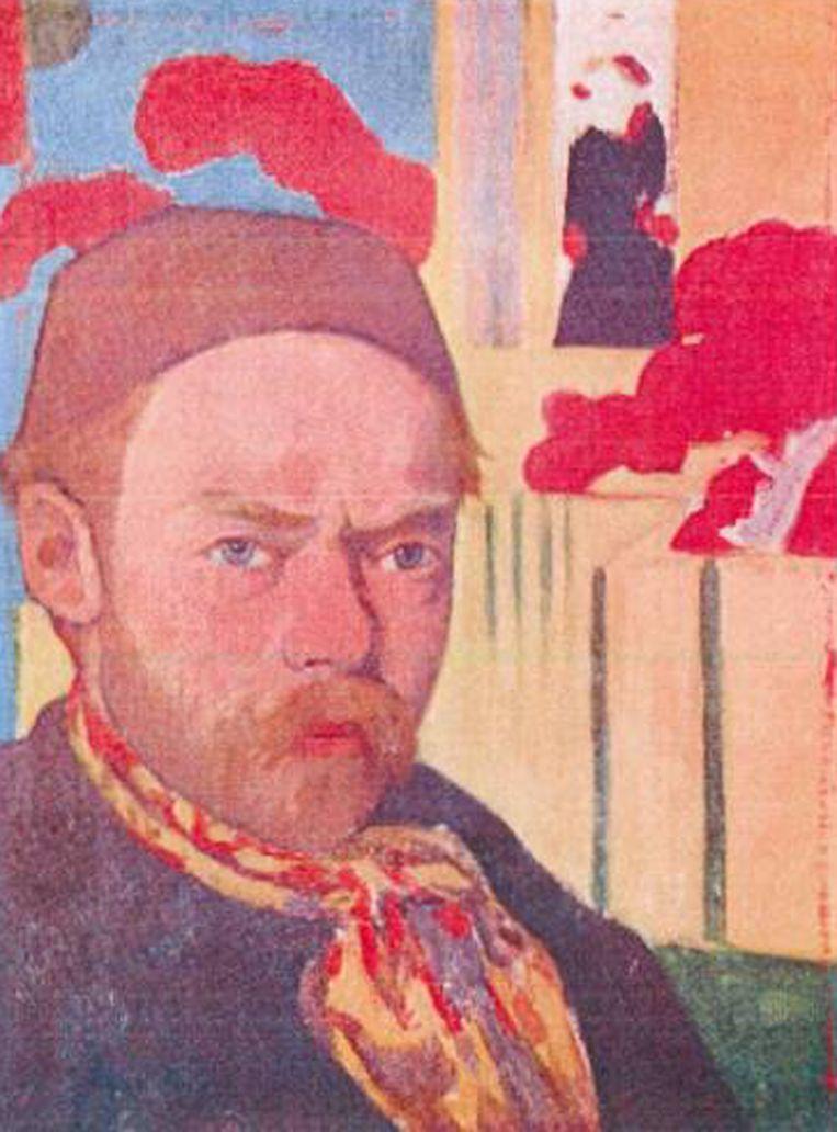Meyer de Haan: 'Autoportrait' (circa 1889 - '91)<br /><br /><strong>De schilderijen die vorig jaar uit de Kunsthal in Rotterdam zijn gestolen, zijn hoogstwaarschijnlijk allemaal verbrand. Het gaat om zeven schilderijen met een geschatte waarde van 18 miljoen euro van onder anderen Monet, Matisse, Picasso en Gauguin. De kunstwerken zijn verbrand in de de woning van de moeder van hoofdverdachte Radu Dogaru in het Roemeense dorpje Carcaliu</strong> Beeld AP