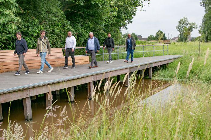 Het gemeentepark van Nieuwkerken is nu helemaal afgewerkt.