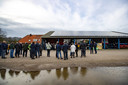 Opening nieuw zonnepanelencollectief project Reetmölle Stroom, afgelopen zaterdag.