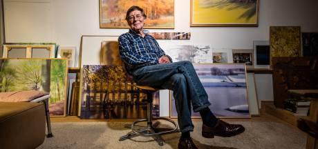 Architect Evert Kleijer (82) wachtte met schilderen tot na zijn pensioen; nu is er een boekje met zijn aquarellen