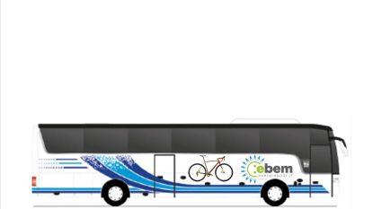 Pendelbus voor toeschouwers Cyclocross Merksplas
