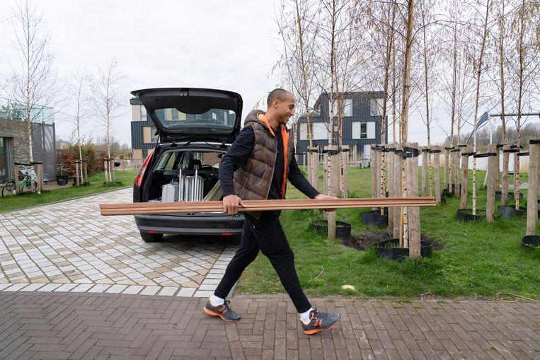 Van Kessel speelde bij dertien clubs in acht landen, waaronder vier jaar bij AZ, twee jaar bij Ajax en zeven jaar in het buitenland. Beeld foto: © 2021 Elmer van der Marel