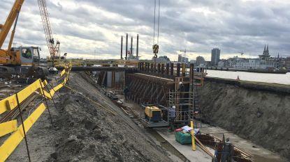 Werken aan Oostendse havengeul gaan volop door