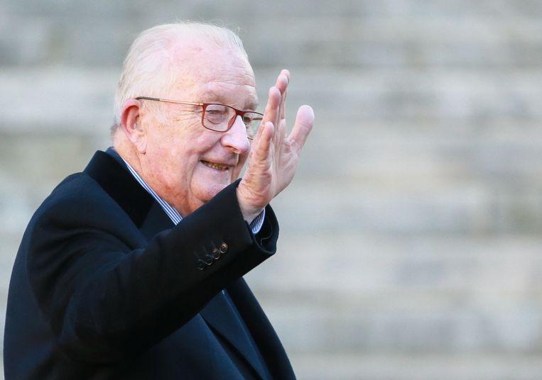 Koning Albert trekt naar Cassatie tegen de beslissing van het Brusselse hof van beroep dat hij een DNA-staal moet afleveren. Beeld EPA