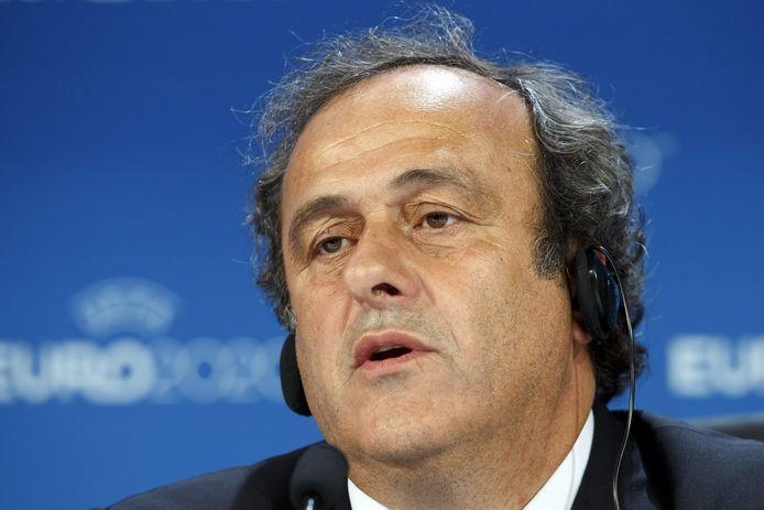 UEFA-baas Michel Platini.