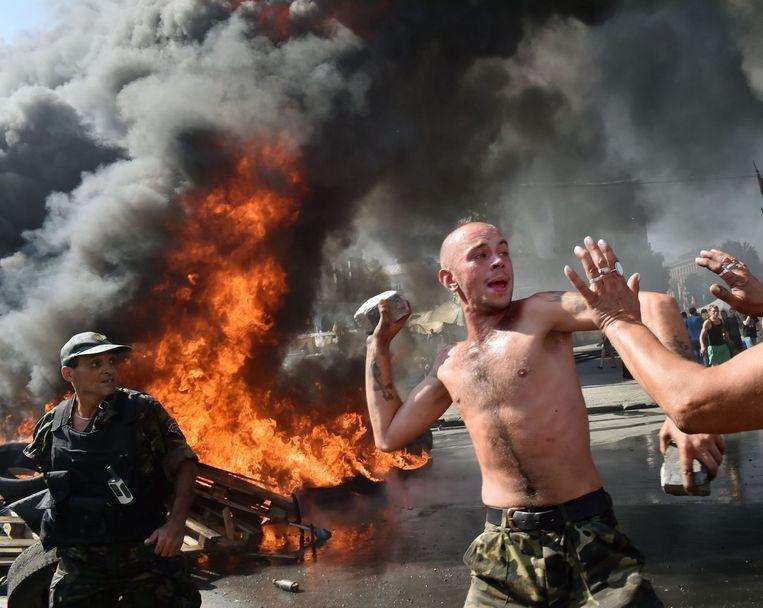 Kiev, in 2014. Beeld afp