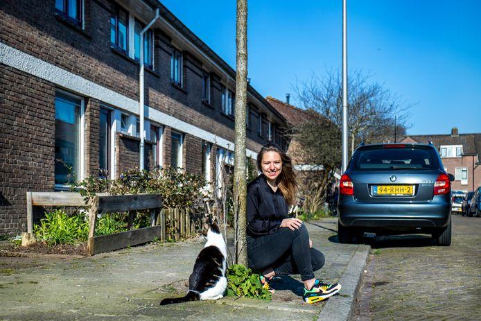 Lisanne van Sadelhoff wist ondanks de oververhitte huizenmarkt een huis te bemachtigen in de Utrechtse wijk Zuilen.