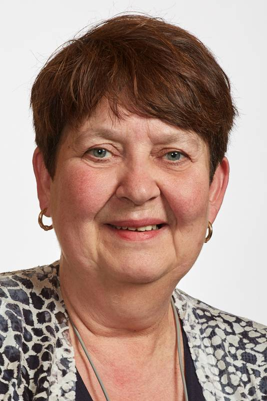 Onderwijswethouder Adrienne Verschuren (Progressief'96) van Haaren