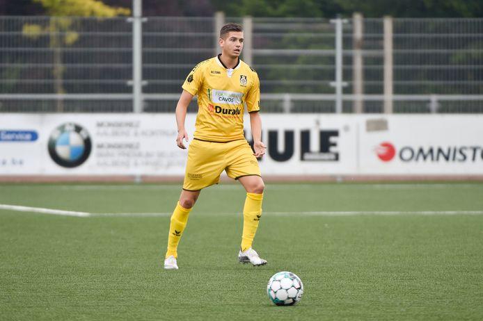 Matt Demets van SCT Menen scoorde de 0-1, maar dat was onvoldoende.