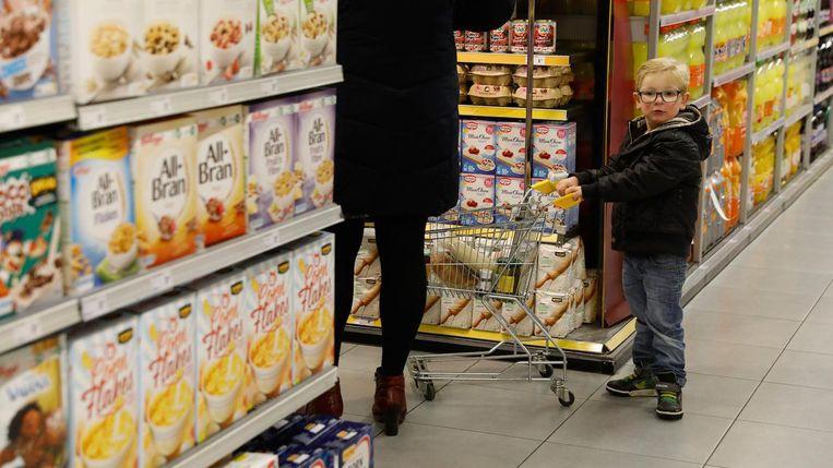 In de supermarkt kwamen de makers allerlei verhalen tegen Beeld ANP
