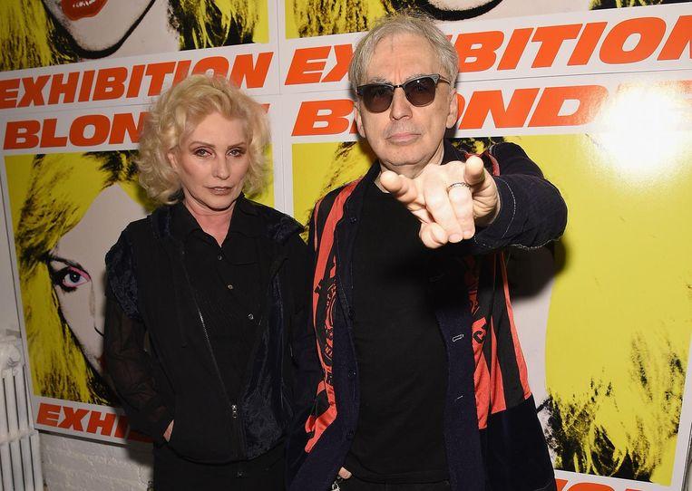 Zangeres Debbie Harry en gitarist Chris Stein in New York. Beeld afp