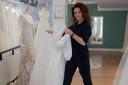 Donna Stok-Linders stopt met haar bruidsmodezaak LaDonna aan de Ganzenheuvel in Nijmegen