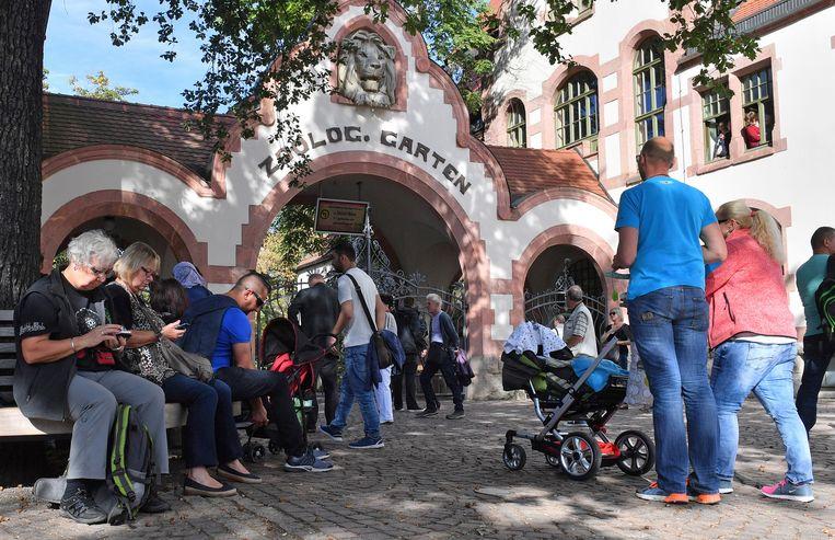 De zoo van Leipzig.