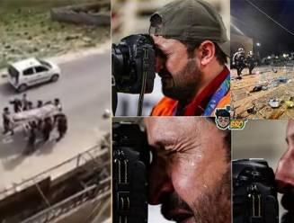 Neen, deze beelden van luchtaanvallen en een huilende persfotograaf werden niet gemaakt in Gaza