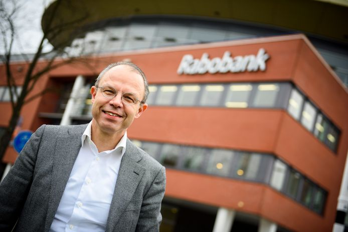 Directeur Marc Cootjans van Rabobank Regio Eindhoven.