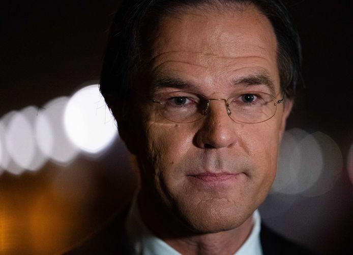 VVD-lijsttrekker Mark Rutte.