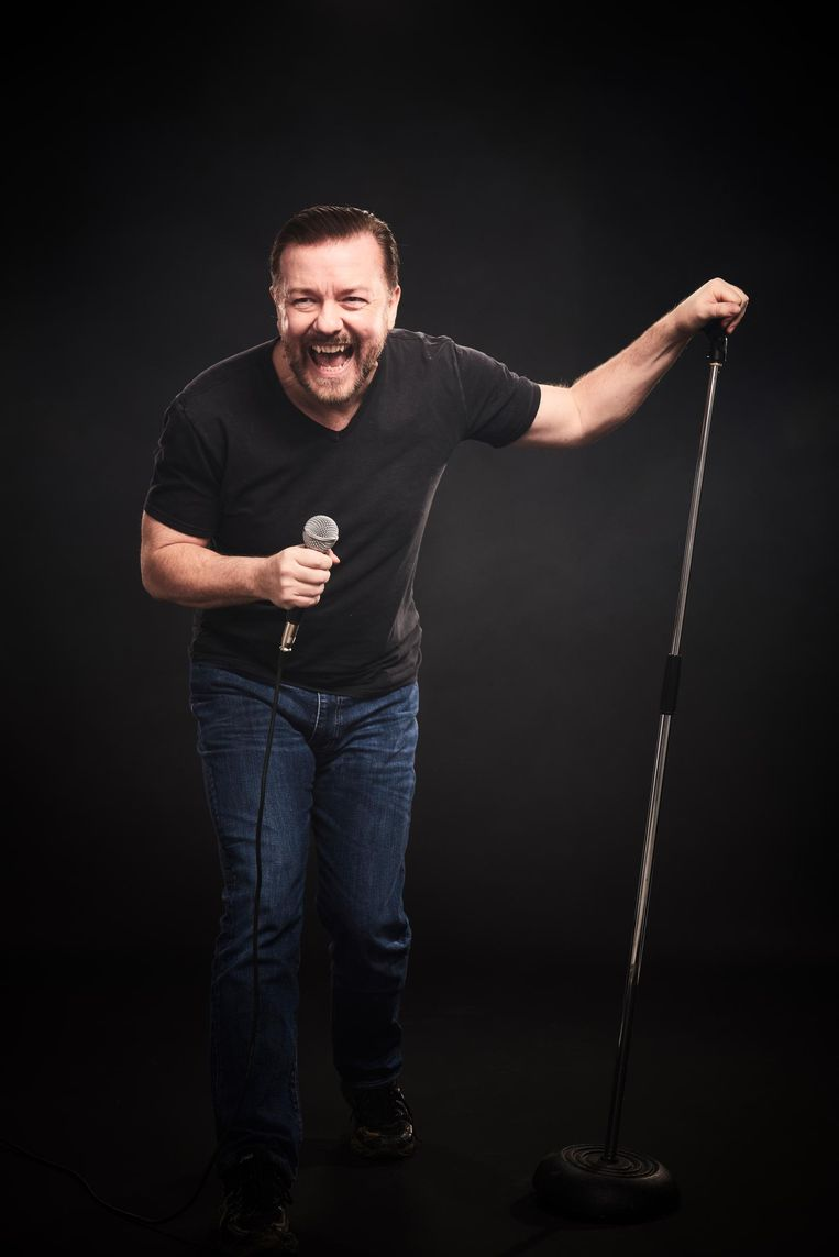 Ricky Gervais. Beeld