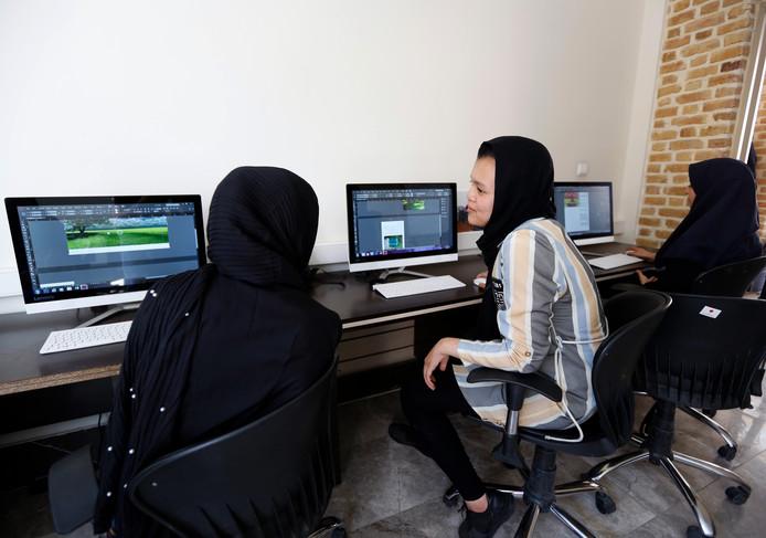 Iraanse studenten.
