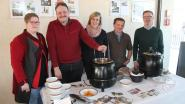Zonnelied verkoopt soep in Pajot Begot