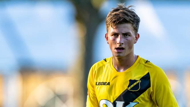 Van Schuppen droomt van zelfde stap als maatje Van Hooijdonk: 'Maar eerst grote man worden in Breda'