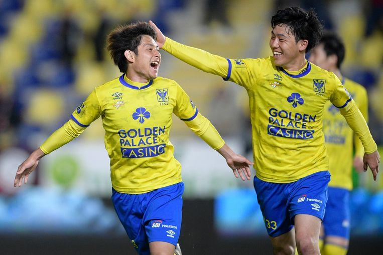 Takahiro Sekine met de 2-2 in blessuretijd