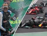 Samenvatting | Hamilton profiteert van vroege crash, Verstappen eindigt als negende
