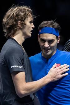 Federer neemt het op voor uitgefloten Zverev: 'Een moedige zet van hem'