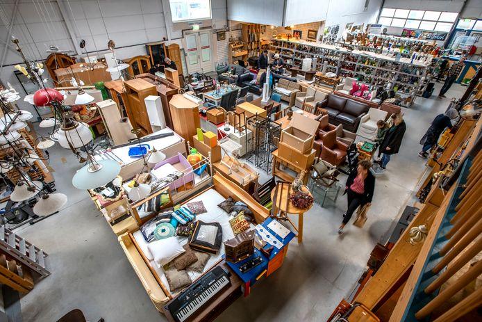 Kringloopwinkel De Recycling doneerde vorig jaar 40.000 euro aan goede doelen.