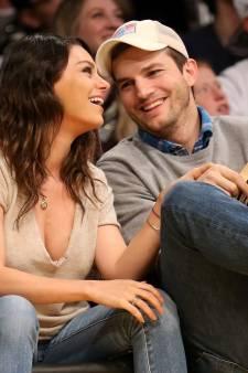 """Ashton Kutcher et Mila Kunis lavent leurs enfants uniquement quand ils """"voient qu'ils sont sales"""""""