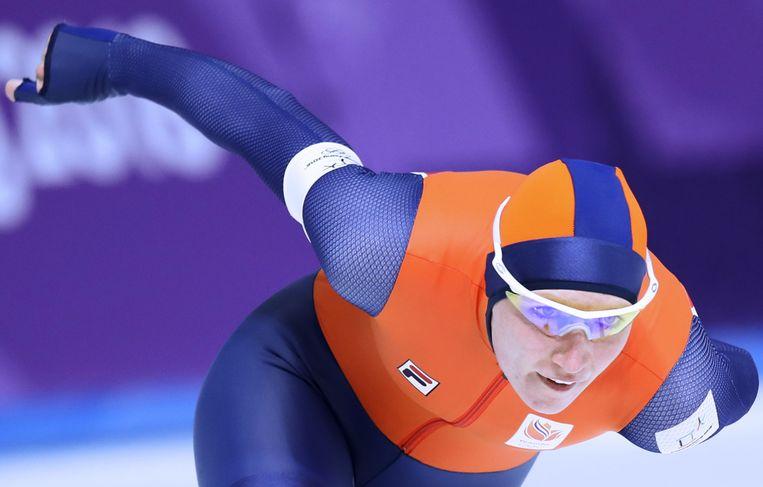 Deze Ireen Wüst wist goud te veroveren op de 1.500 meter. Beeld