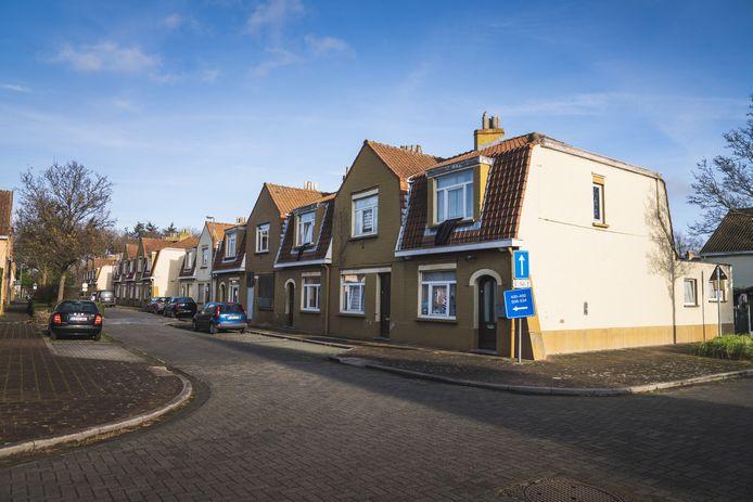 De woonwijk in de Sint-Bernadettestraat