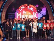 Harderwijkse basisschool op tv bij Lang Leve de Muziek Show