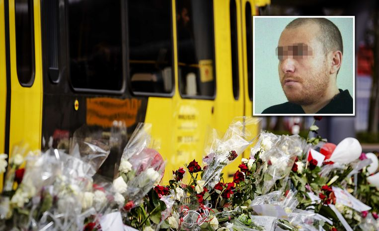 Gokmen T. opende het vuur in een tram, waar vier doden vielen.  Beeld ANP
