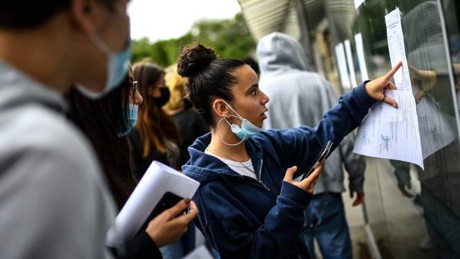 Frankrijk stuurt niet-gevaccineerde kinderen bij een besmetting in de klas van school