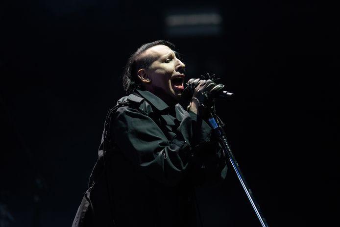 Marilyn Manson op archiefbeeld.