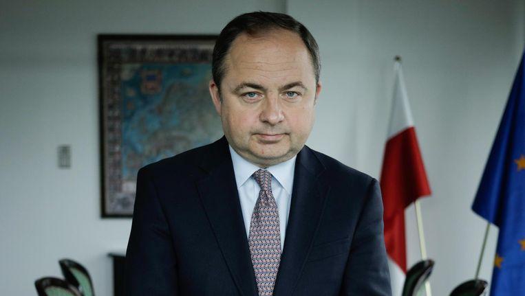 Konrad Szymanski, Poolse viceminister van Buitenlandse Zaken. Beeld Piotr Malecki