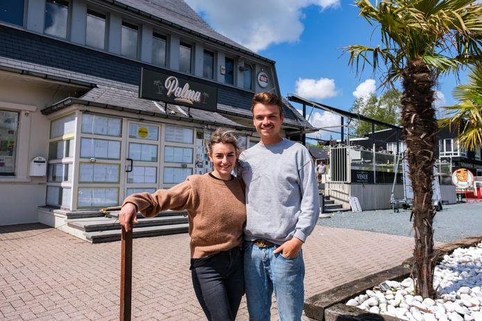 Sam Pelgroms en Laura Nollet openen binnenkort de horecazaak Palma in Aartselaar.