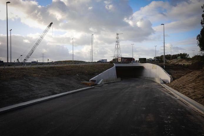 Binnenkort opent de tunnel die het centrum verbindt met de N31 richting E40.