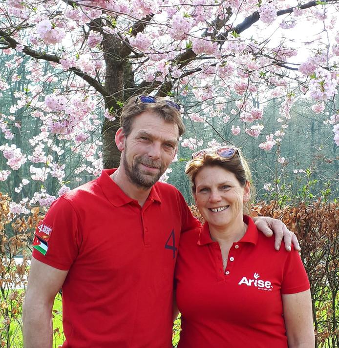 Erwin en Anja Visscher uit Dalfsen.