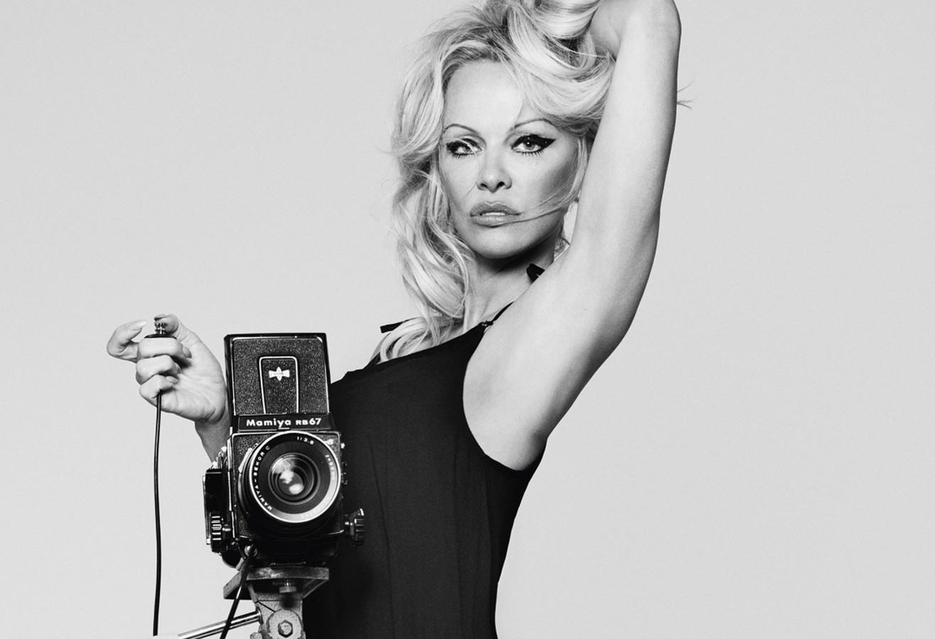 Pamela Anderson, hier nog tijdens een fotoshoot voor lingerielabel Coco de Mer.