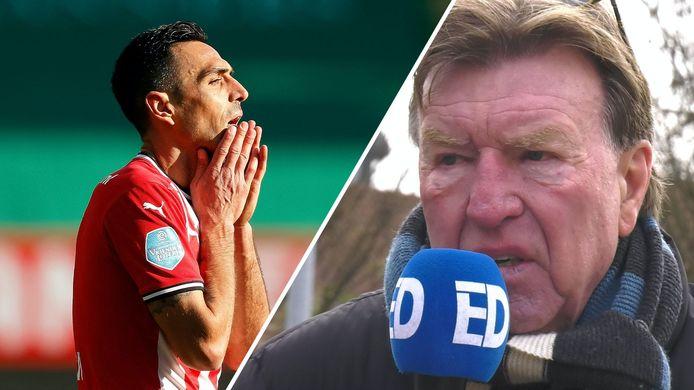 Aad de Mos ziet veel toekomst in het huwelijk tussen PSV en Eran Zahavi.