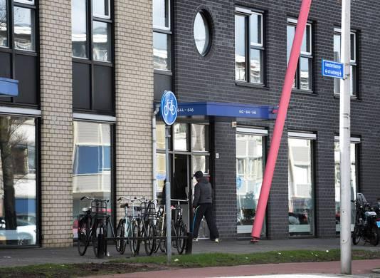 Het pand van Dolia Zorg aan de Amsterdamsestraatweg in Utrecht