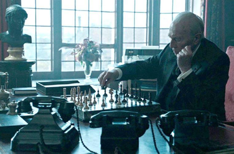 Christopher Plummer als de oliemiljardair J. Paul Getty. Beeld
