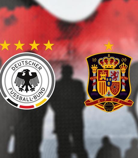 Duitsland - Spanje