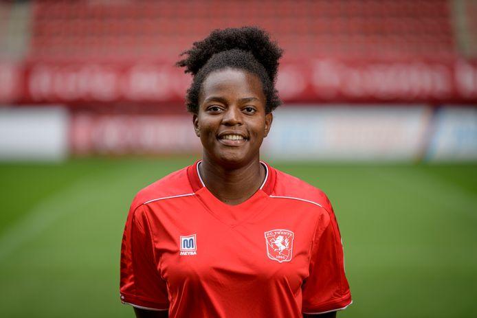 Danique Ypema wil zich in Enschede verder ontwikkelen.