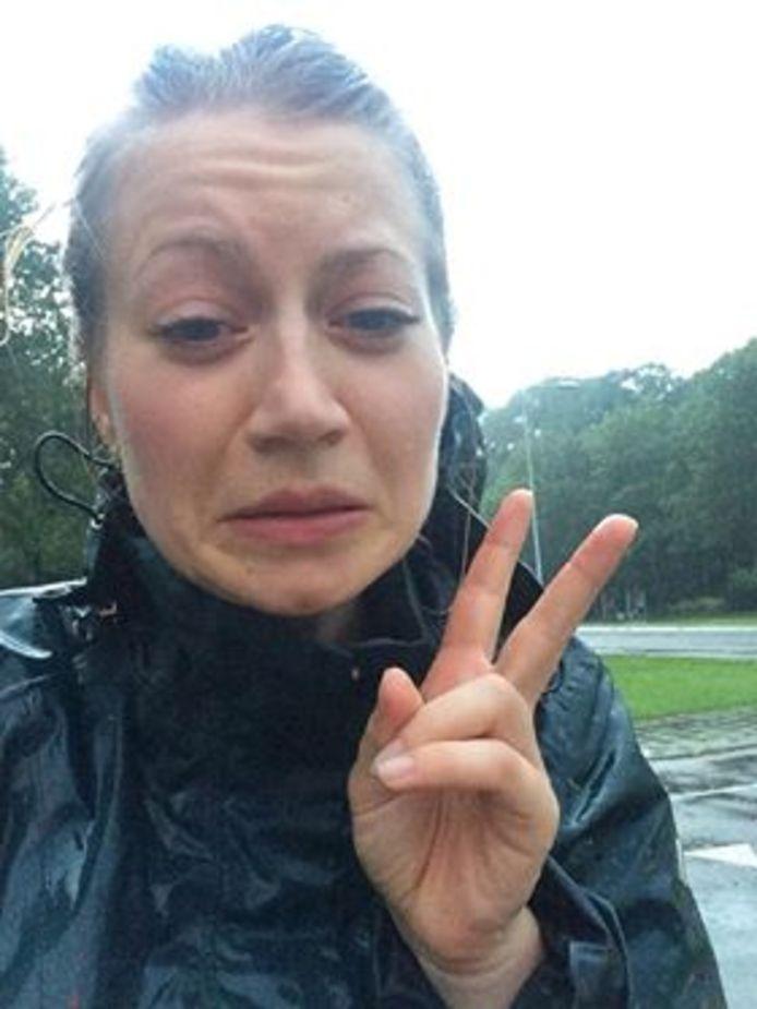 Een selfie in de regen is het laatste bericht dat van Anne Faber is vernomen.