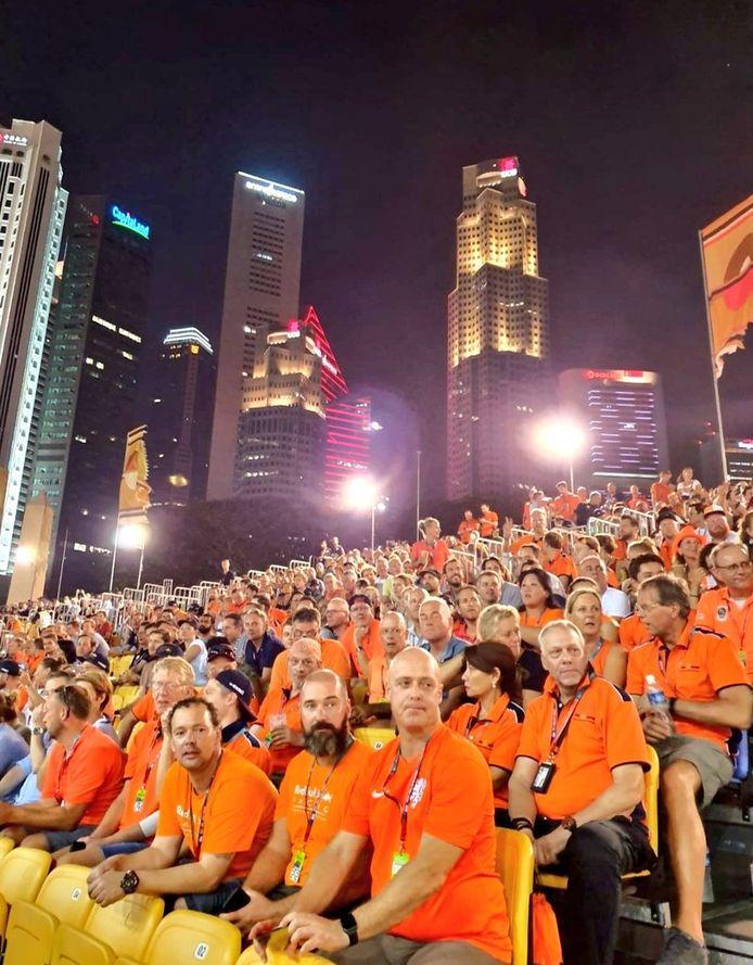 De Max-tribune in Singapore
