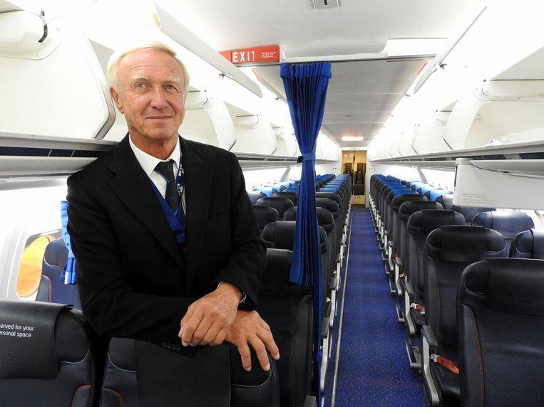 Berenschot is best te spreken over de Fokker F27 en de F50, de propellervliegtuigen van de fabrikant. 'Maar dat zijn tractors vergeleken bij de straalvliegtuigen van Fokker.' Beeld Herman Stil