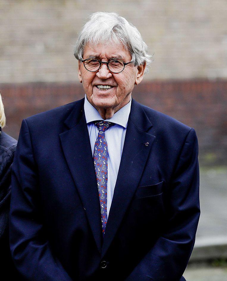 Bram Peper, oud-politicus en oud-burgemeester van Rotterdam. Beeld ANP