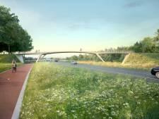 Vijf nieuwe bruggen bij Airport; metamorfose in volle gang